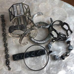 10 Silver Bracelets Modern & Vintage